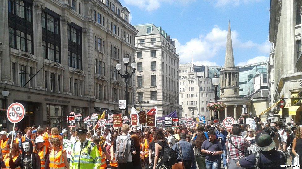 50,000 Go Unnoticed – Occupy London